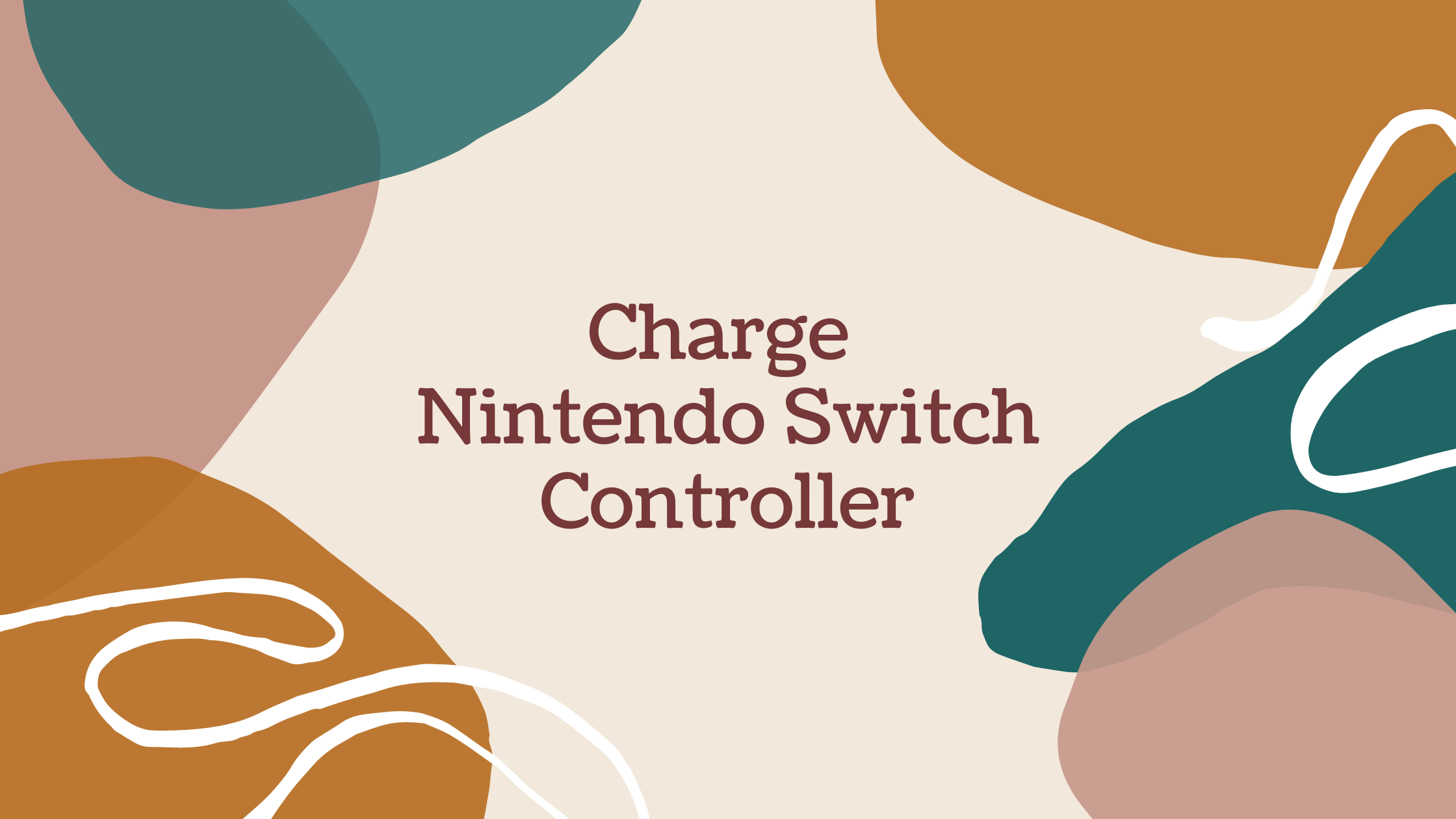 How to Charge the Nintendo Switch Controller?